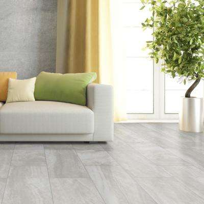 Praia Grey 24 in. x 48 in. Polished Porcelain Floor and Wall Tile (7 cases / 112 sq. ft. / Pallet)