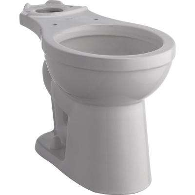 Foundations Round Front Toilet Bowl Only in White