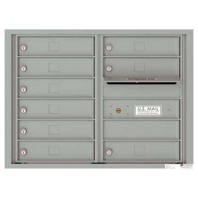Versatile 9-Compartment 1 Outgoing Wall-Mount 4C Mailbox Suite