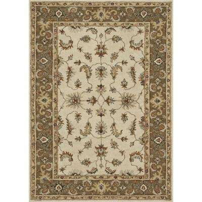 Fairfield Lifestyle Collection Ivory/Bronze 5 ft. x 7 ft. 6 in. Area Rug