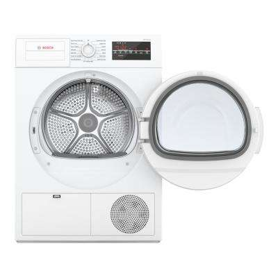 300 Series24 in. 4 cu. ft. 240-Volt White Electric Ventless Compact Dryer
