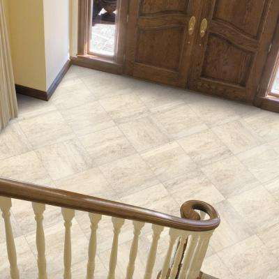 Bartello Fawn 18 in. x 18 in. Glazed Porcelain Floor and Wall Tile (17.60 sq. ft. / case)