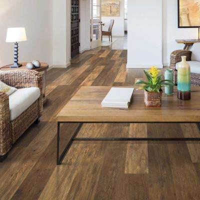 Outlast+ Lawrence Chestnut 10mm Thick x 6-1/8 in. Wide x 47-1/4 in. Length Laminate Flooring (16.12 sq. ft. / case)