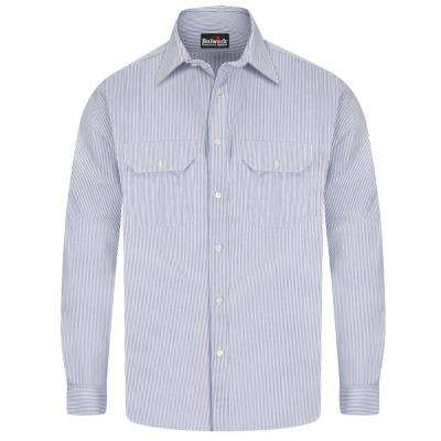 ECEL FR Men's Striped Uniform Shirt
