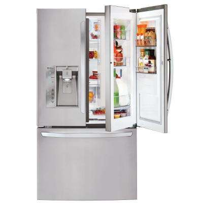 32 cu. ft. French Door-in-Door Refrigerator in Stainless Steel