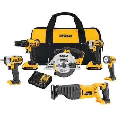 20-Volt MAX Lithium-Ion Cordless Combo Kit (6-Tool)