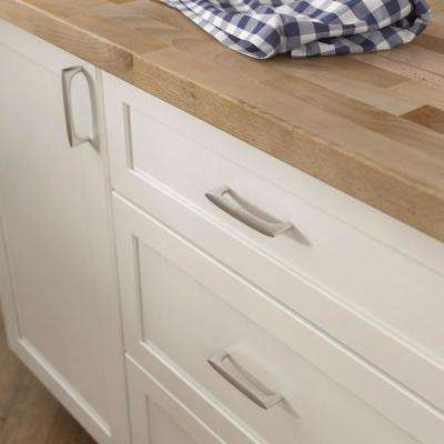 Mila 3-3/4 in. (96 mm) Center-to-Center Satin Nickel Drawer Pull
