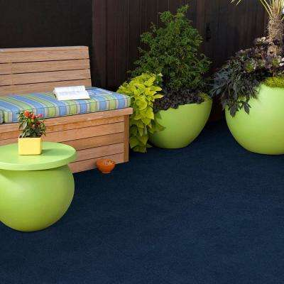 Peel and Stick Design Smart Mocha Rib 18 in. x 18 in. Residential Carpet Tile (10 Tiles/Case)