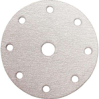 6 in. 120-Grit Hook and Loop Round Abrasive Disc (10-Pack)