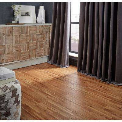 White Oak Natural 5/8 in. Thick x 4-3/4 in. Wide x Varying Length Click Solid Hardwood Flooring (15.5 sq. ft. / case)