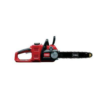 PowerPlex 14 in. 40-Volt Max Lithium-Ion Cordless Brushless DC Chainsaw