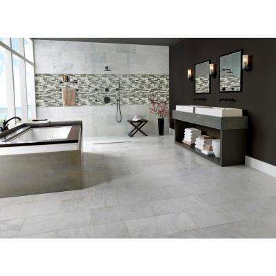 Urban Tapestry Interlocking 11.81 in. x 11.81 in. x 6 mm Glass Mesh-Mounted Mosaic Tile (0.98 sq. ft.)