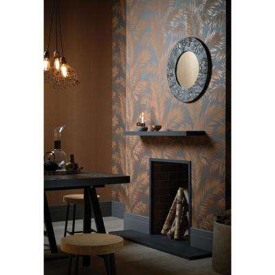 Ardita Red Copper Unpasted Wallcovering