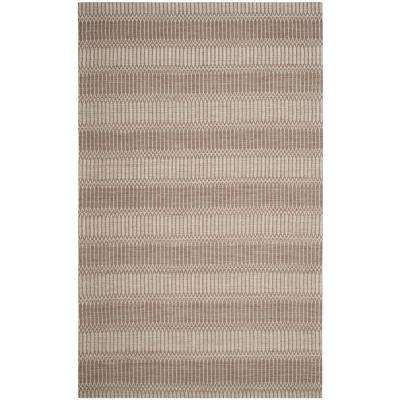 Marbella Brown 6 ft. x 9 ft. Area Rug