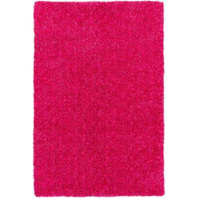 Charlie Bright Pink 5 ft. x 7 ft. 6 in. Indoor Area Rug