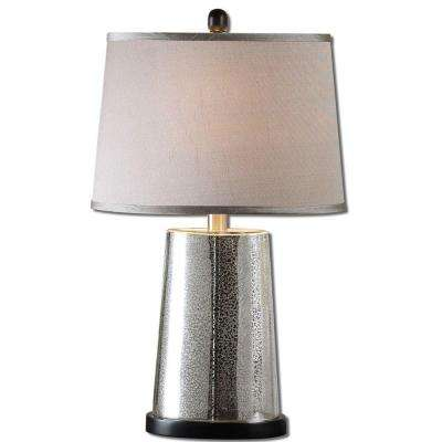 26 in. Mercury Glass Table Lamp