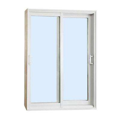 72 in. x 80 in. Double Sliding Patio Door Clear Low-E