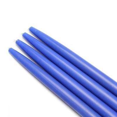 10 in. Blue Taper Candles (12-Set)