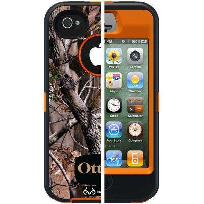 Defender Cell Phone Case for iPhone 4S - AP Blazed