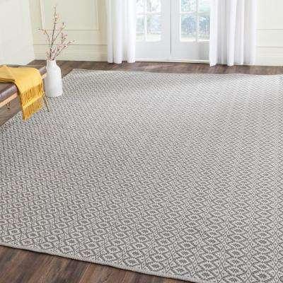 Montauk Ivory/Gray 9 ft. x 12 ft. Area Rug