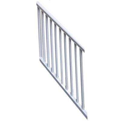 Original Rail Vinyl 6 ft. x 36 in. 32°-38° Stair Rail Kit Including Square Baluster in White