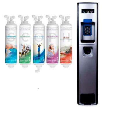 Bottleless Water Cooler - 9 Stage RO with Sediment, Pre Carbon, Reverse Osmosis, Post Carbon and Alkaline Filters