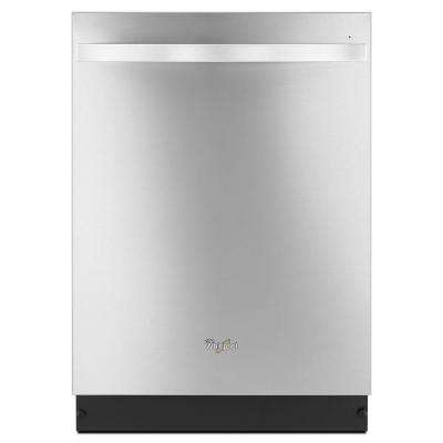 Gold Series Top Control Dishwasher in Monochromatic Stainless Steel with Stainless Steel Tub