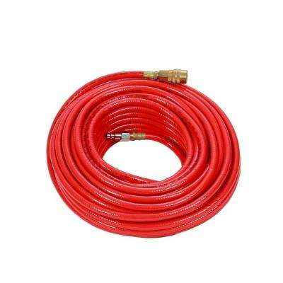 1/4 in. x 50 ft. PVC Air Hose with Couplers