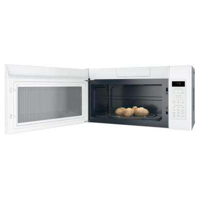 1.9 cu. ft. Over the Range Microwave with Sensor Cooking in White