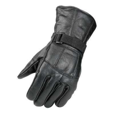 All Season Leather Black Glove