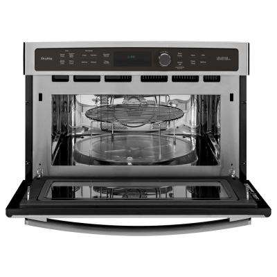 Profile Advantium 27 in. Single Electric Wall Oven with Speed Cook and Convection in Stainless Steel