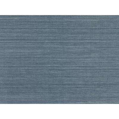 Lamphu Blue Grasscloth Wallpaper Grass Cloth Peelable Wallpaper (Covers 72 sq. ft.)