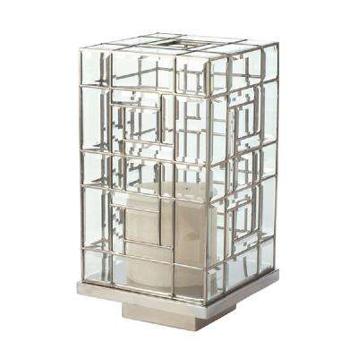 20 in. Glass Hurricane Candle Holder