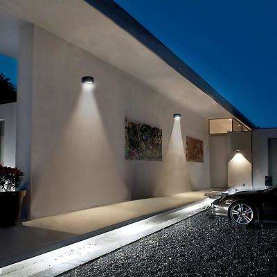 Architectural Dark Bronze Outdoor Integrated LED Wall Pack Light
