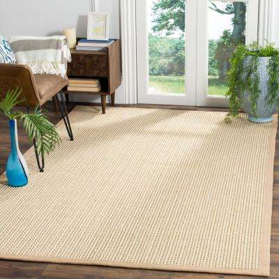 Natural Fiber Beige 4 ft. x 6 ft. Area Rug