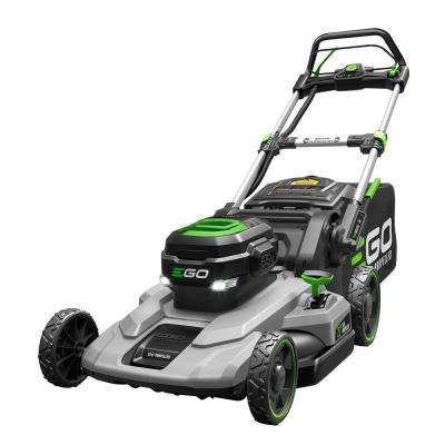 21 in. 56-Volt Lithium-Ion Cordless Battery Self Propelled Mower