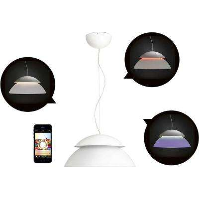 White and Color Ambiance Beyond LED Dimmable Smart Pendant Ceiling Light