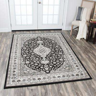 Zenith Black Multi 8 ft. x 11 ft. Area Rug