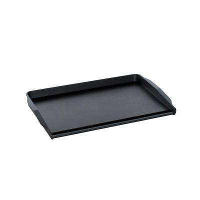 12 in. x 20 in. Pro Cast Double Backsplash Griddle