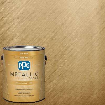 1 gal. MTL137 Gilded Gold Metallic Interior Specialty Finish Paint