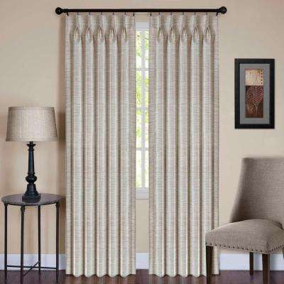 Sheer Parker Pinch Pleat Window Curtain Panel