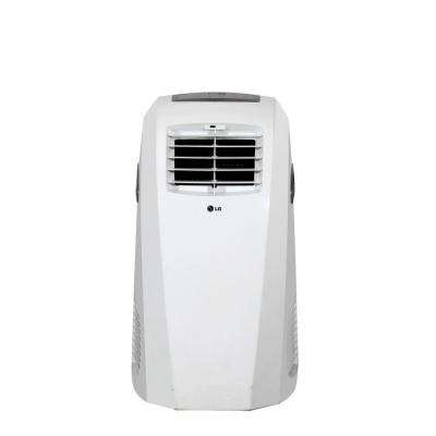 10,000 BTU Portable Air Conditioner and Dehumidifier Function with Remote in White