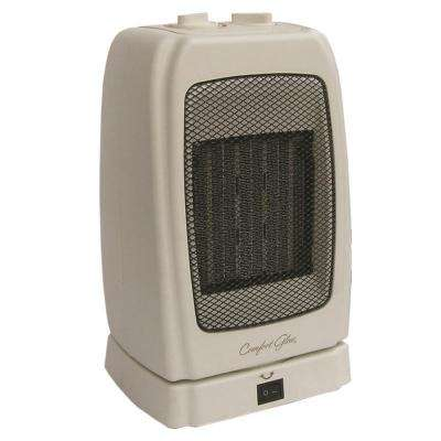 1,500-Watt Electric Convection Portable Heater with Tip Over Protection