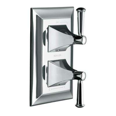 Memoirs 2-Handle Valve Trim Kit with Stately Design in Polished Chrome (Valve Not Included)
