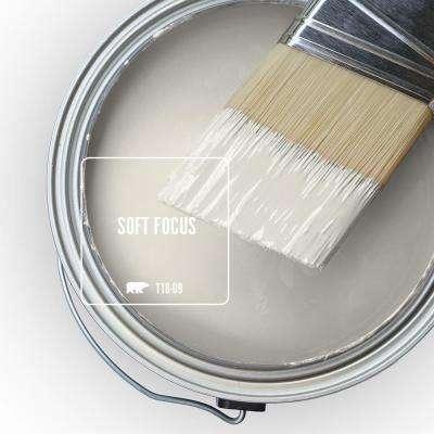 Behr Marquee 1 Qt T18 09 Soft Focus Semi Gloss Enamel Exterior Paint Primer 545004 The Home Depot
