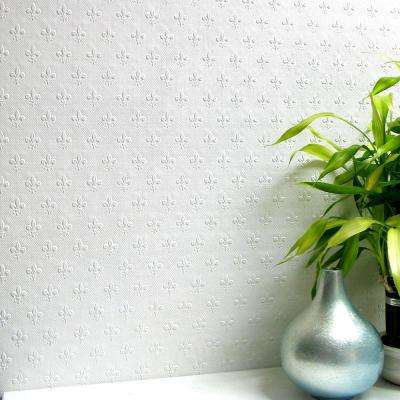 Tudor Paintable Anaglytpa Original Vinyl Strippable Wallpaper (Covers 56.4 sq. ft.)
