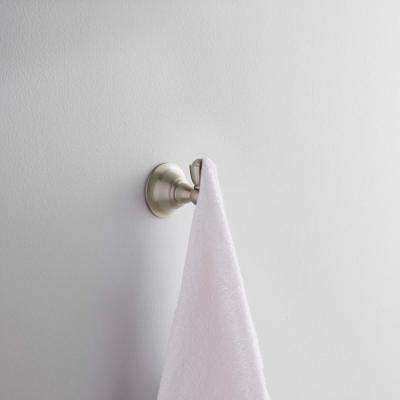 Sage Single Robe Hook in Spot Resist Brushed Nickel