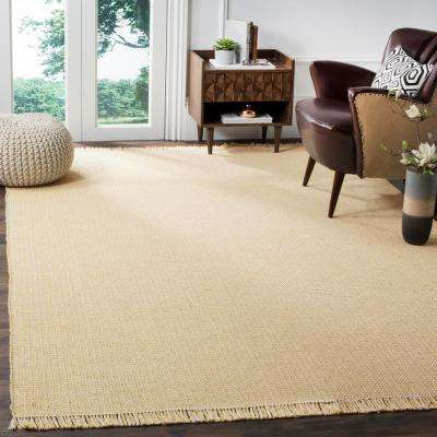 Montauk Ivory/Yellow 6 ft. x 6 ft. Square Area Rug