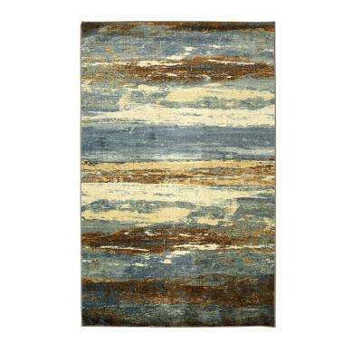 Abstract Sea Urban 5 ft. x 8 ft. Area Rug