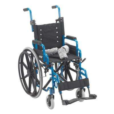 Wallaby Pediatric Folding Wheelchair with 14 in. Seat